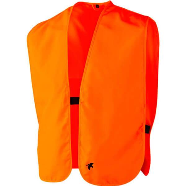chaleco de caza naranja