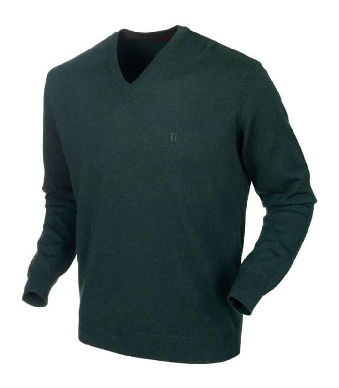 jersey de lana cuello v