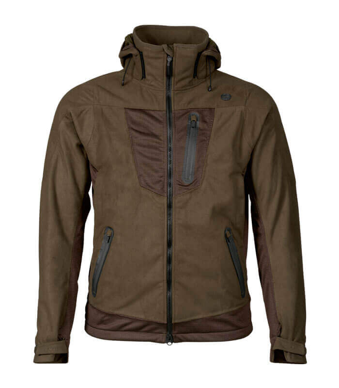 chaqueta de caza caliente impermeable