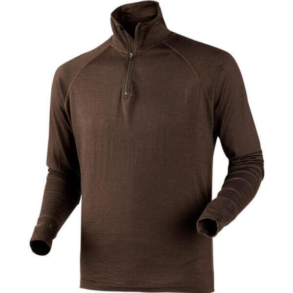 camiseta termica de lana