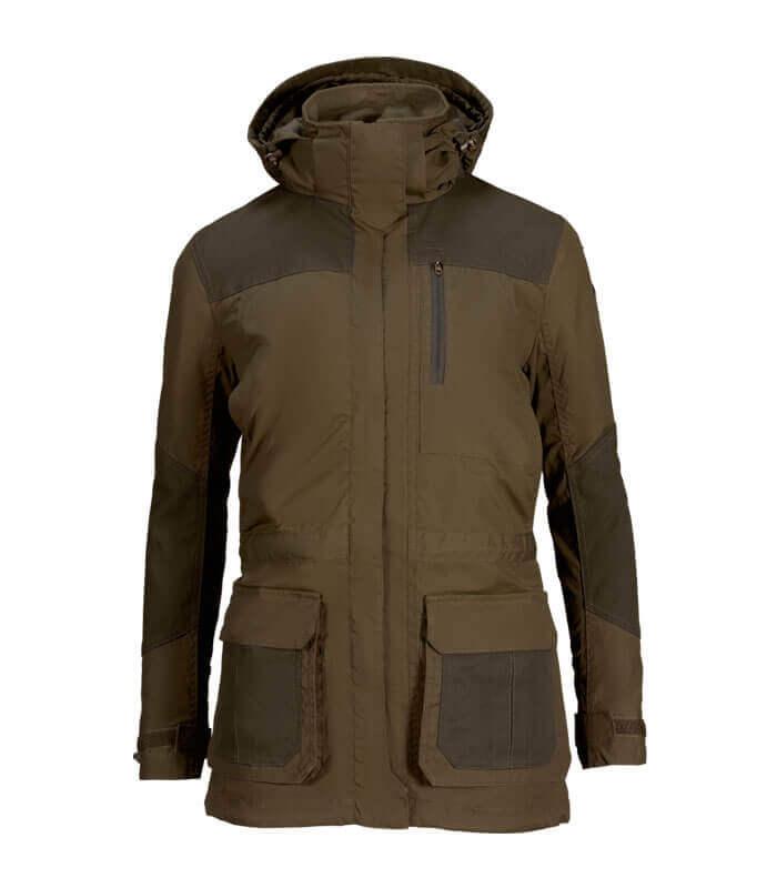 chaqueta de caza de mujer