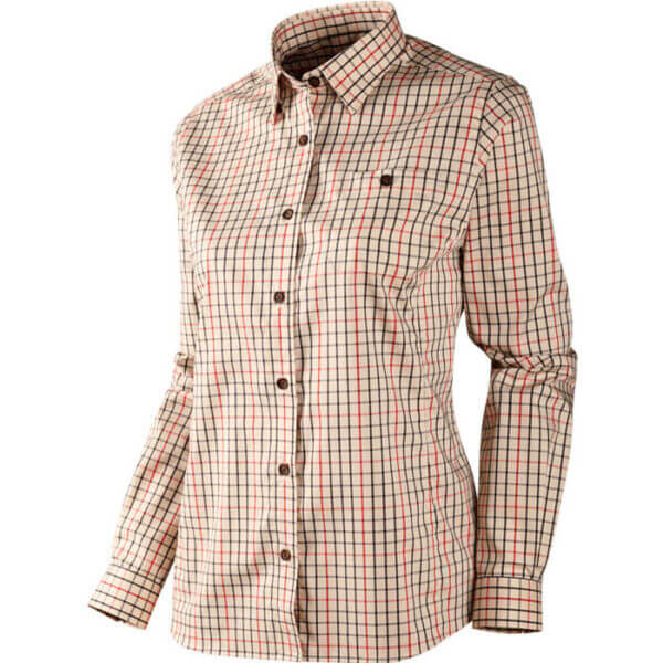 camisa de mujer cuadros clasicos