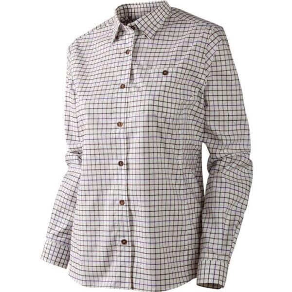 camisa de mujer estilo campo