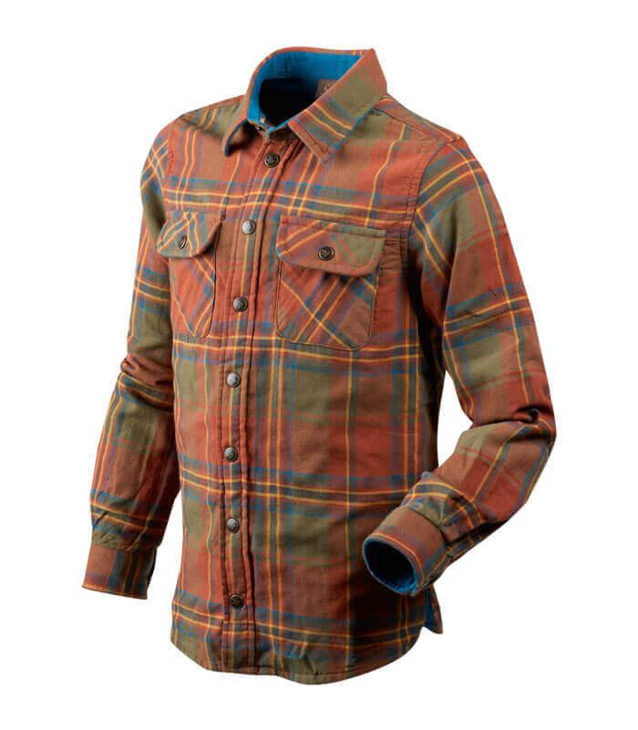 camisa de caza para niños