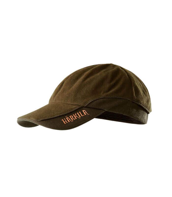 gorra de caza reversible color naranja de seguridad