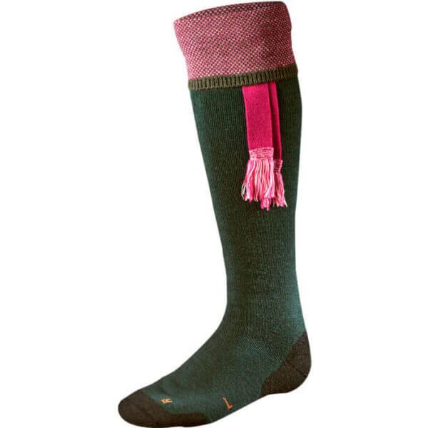 calcetines alto laa con borla