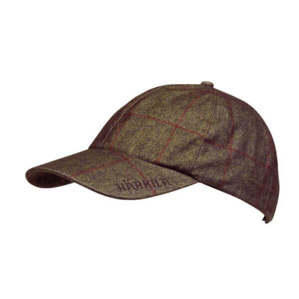 gorra de caza tweed