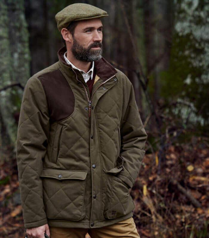 chaquetas de moda de campo para hombres