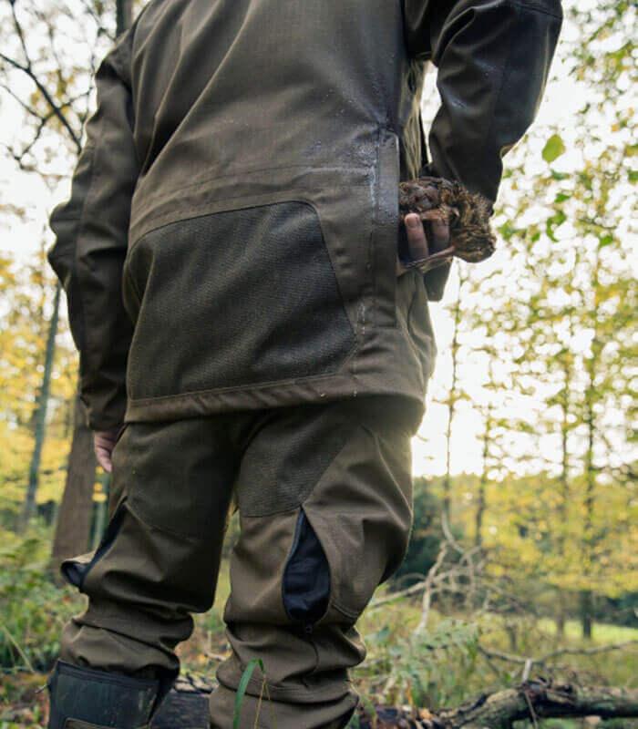 Chaqueta de caza resistente becada
