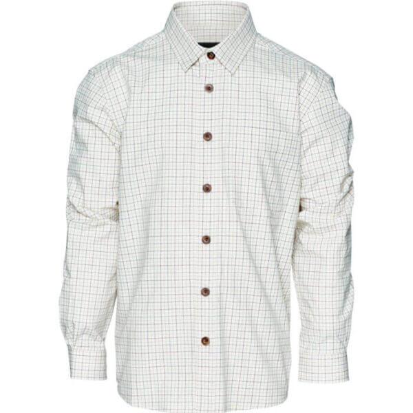 camisa de caza de cuadros niño