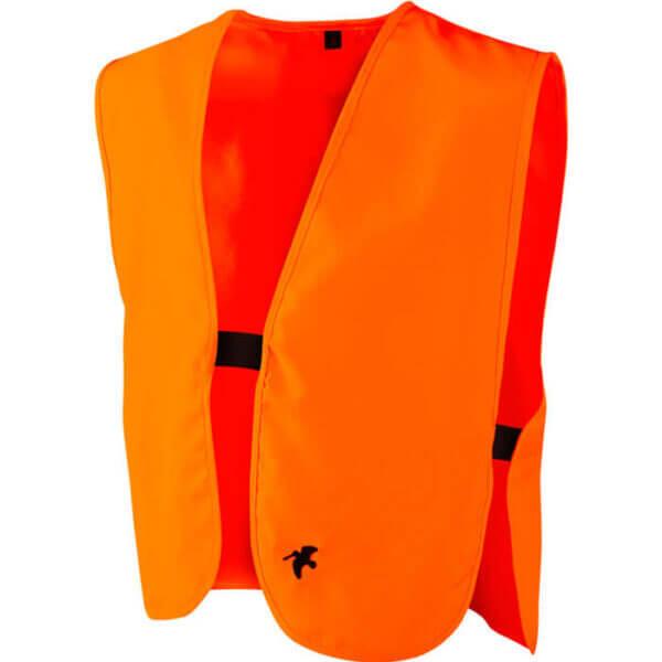 chaleco de caza niño naranja de alta visibilidad
