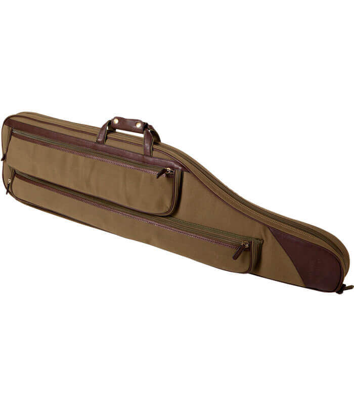 funda de rifle 125 cm con bolsillos