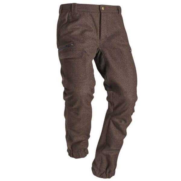 pantalones de caza de lana calientes