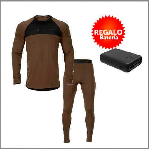 ropa interior térmica calefactable