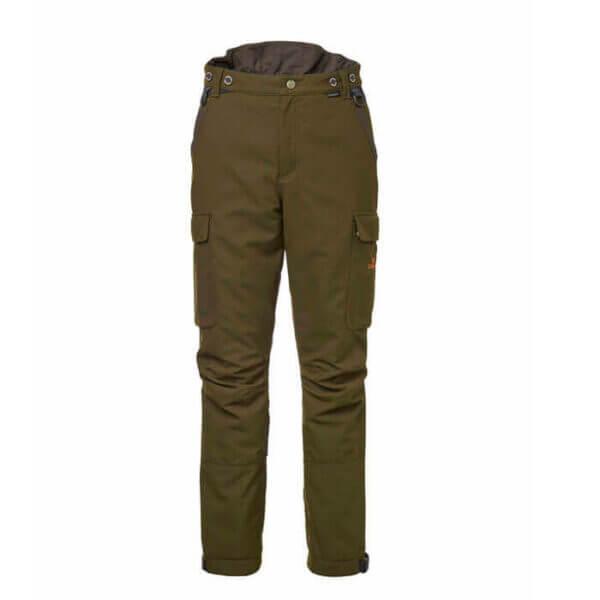 pantalones de caza con kevlar y goretex