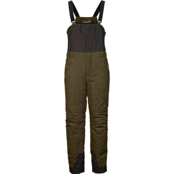 pantalones peto de caza para frio extremo