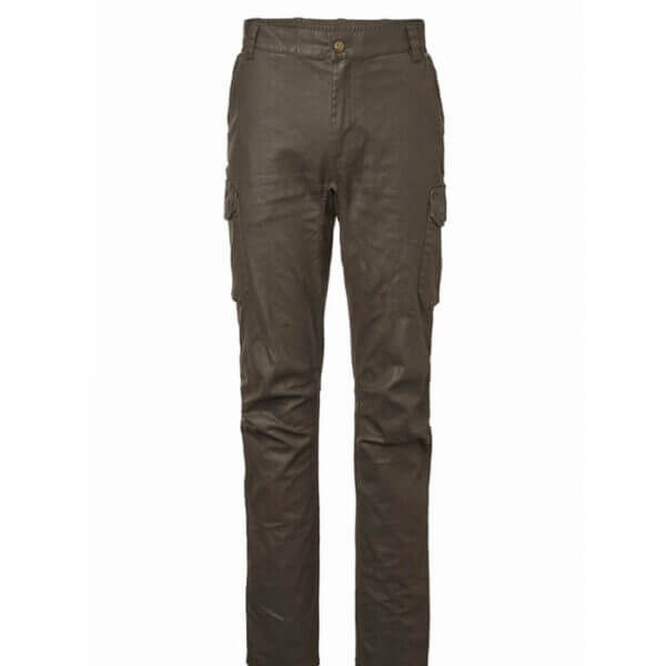 pantalones de caza de algodon encerado