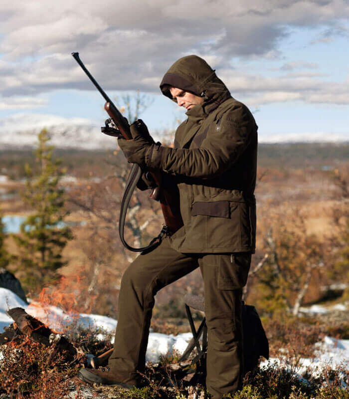 chaqueta de caza para frio extremo