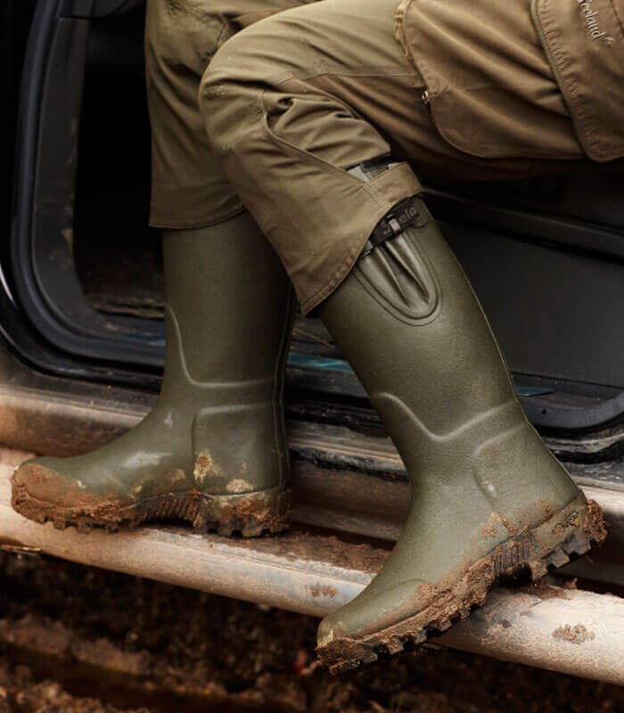 botas de agua de caza