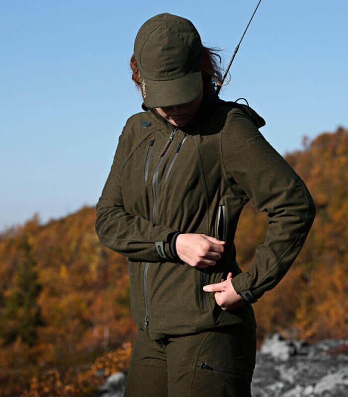 chaqueta de caza mujer