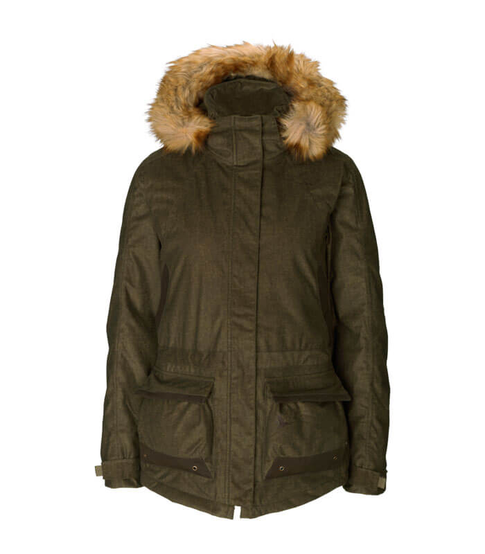 chaqueta caza mujer impermeable y caliente