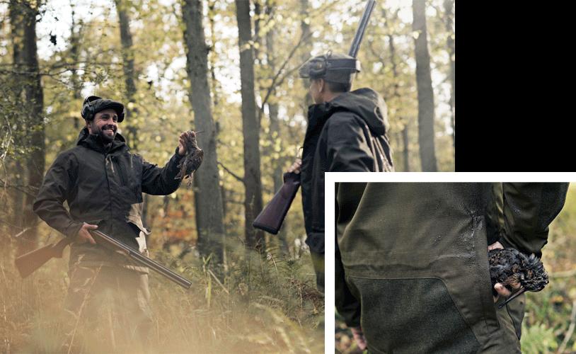 ropa de caza becadas