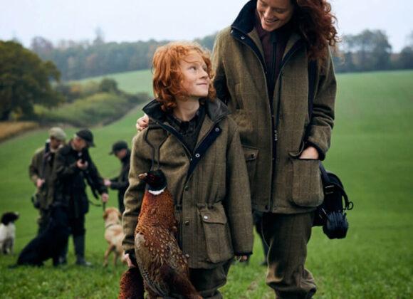ropa de caza niños