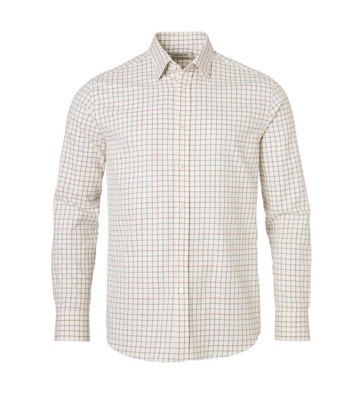 camisa de hombre de cuadros