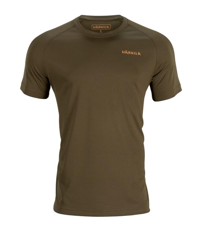 camiseta transpirable de manga corta harkila