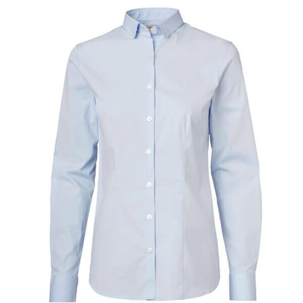 camisa de mujer entallada