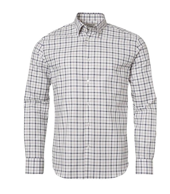 camisa de cuadros de caballero