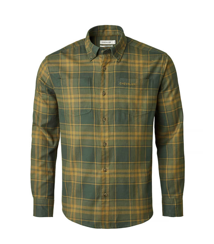 camisa de caza hombre