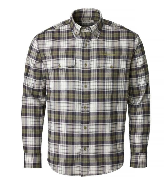 camisa de caza de hombre