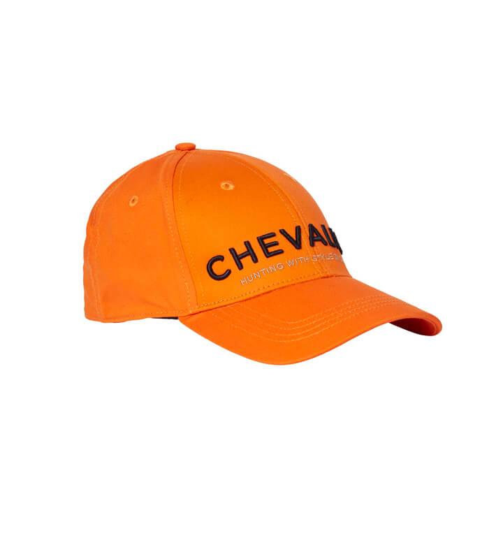 gorra naranja de seguridad