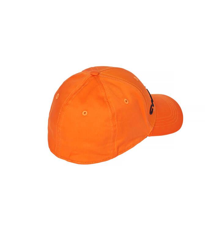 gorra de caza naranja de alta visibilidad