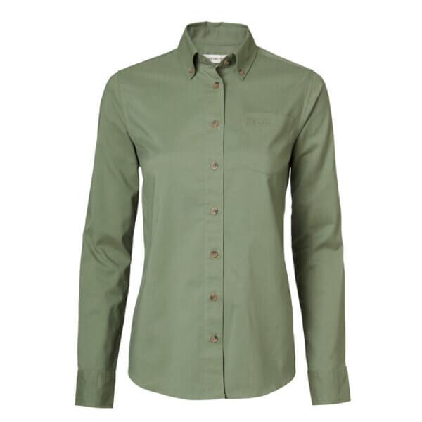 camisa de caza de mujer