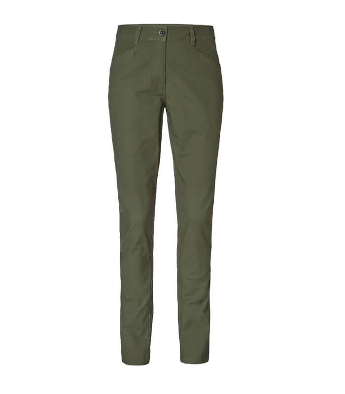 pantalones de algodon de mujer tipo chinos