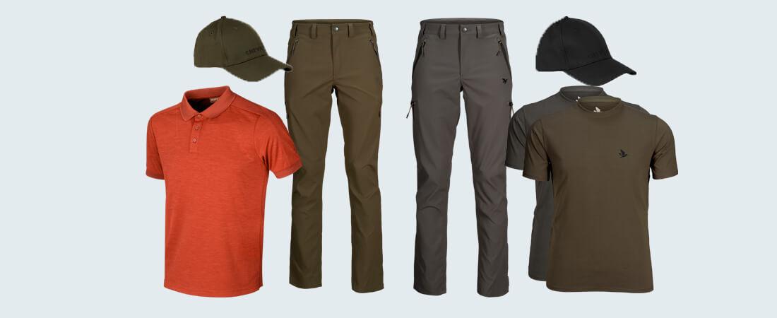 ropa de verano para cazar