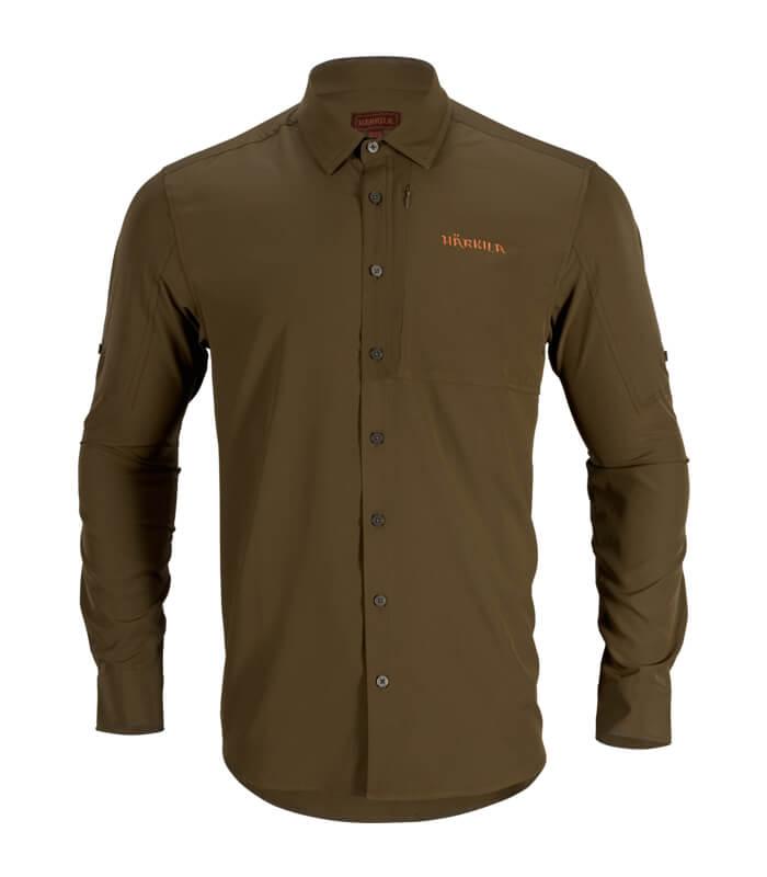 camisa de manga larga anti mosquito de verano