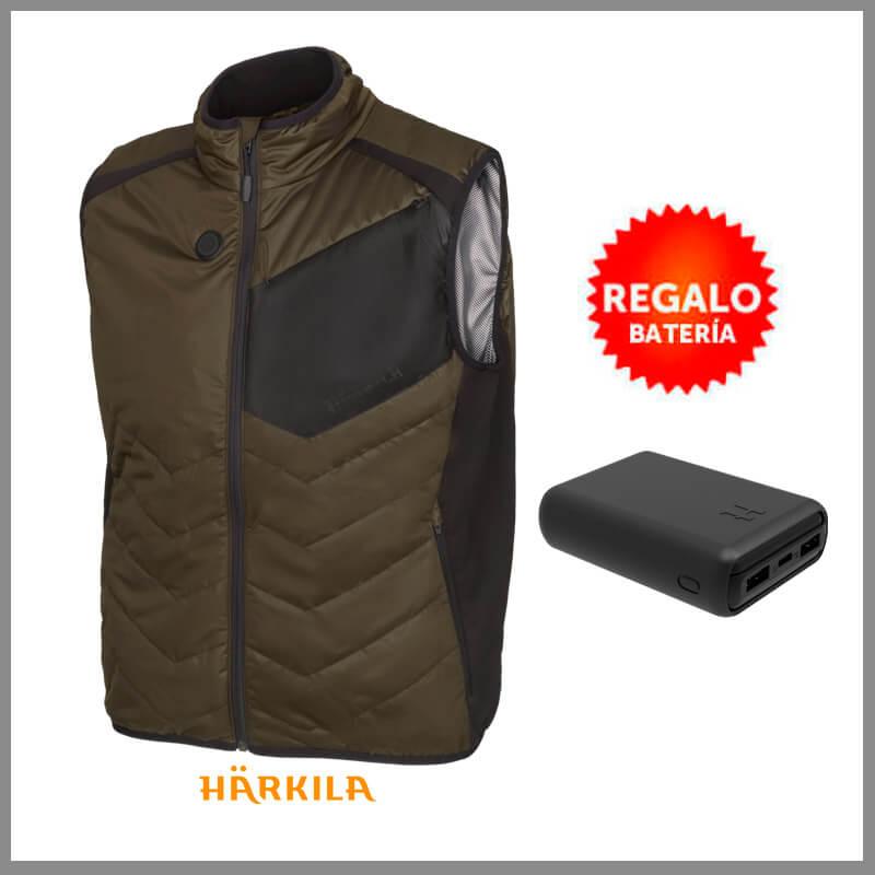 chaleco hear harkila con bateria de regalo