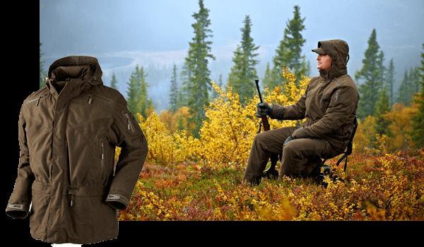 chaqueta frio extremo para cazar