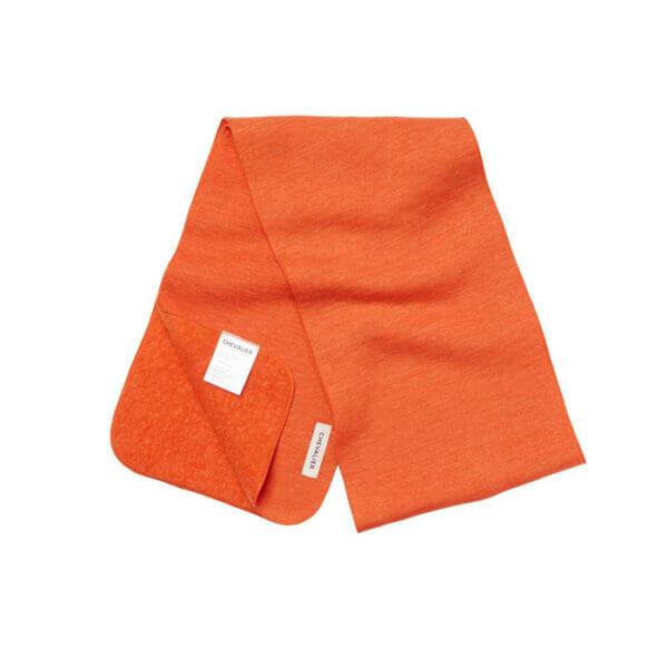 bufanda de caza naranja