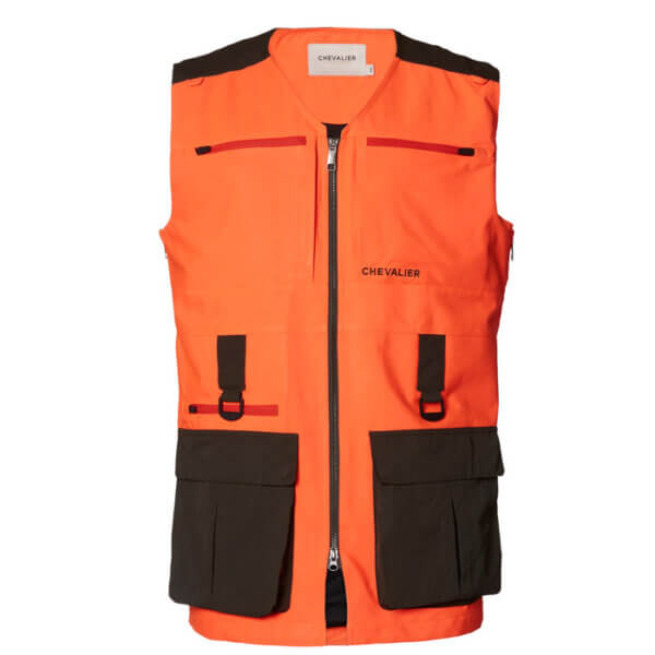 chaleco de caza naranja de seguridad de alta visibilidad