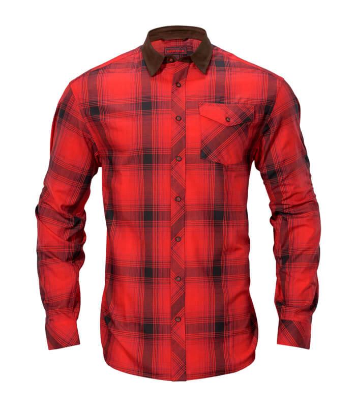 camisa de caza caliente