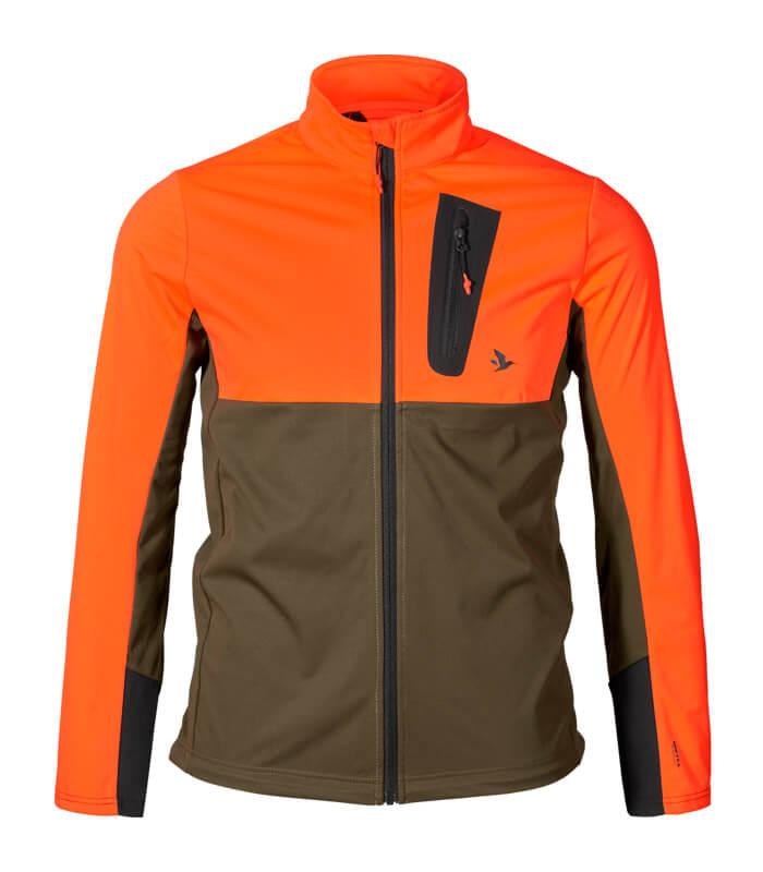 Force Advanced chaqueta softshell naranja de alta visibilidad
