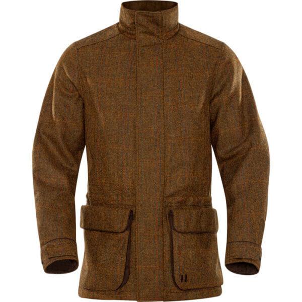 chaqueta caza tweed impermable harkila