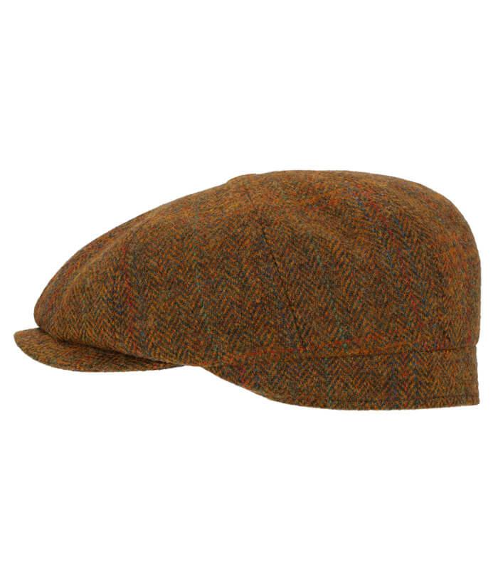 gorra inglesa de tweed