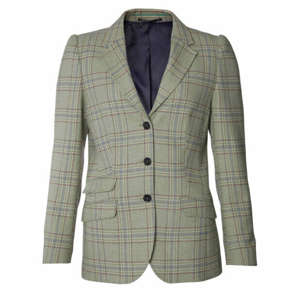 chaqueta tweed tba mujer