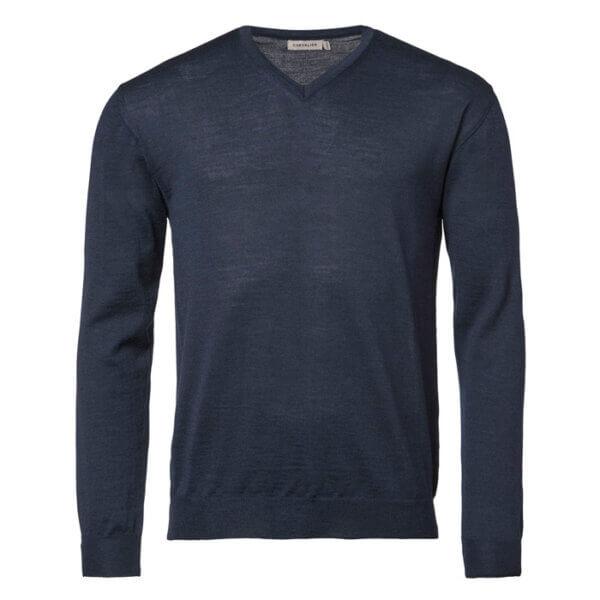 jersey de lana merino fino para el hombre