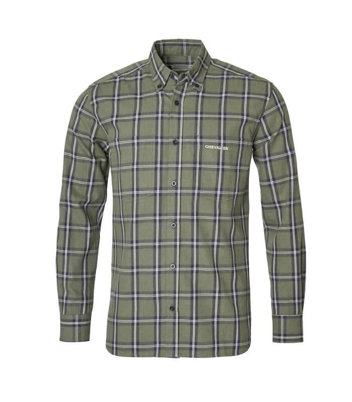 camisa de cuadros y franela caliente de hombre